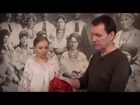 Традиційний жіночий одяг. Полтавщина (ВИДИВО) / Рукотвори