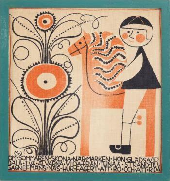 Textilt handtryck, Marianne Westman
