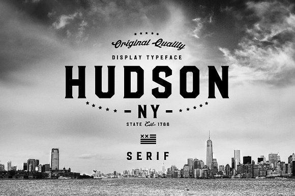 Hudson NY - Serif by Arkitype on @creativemarket