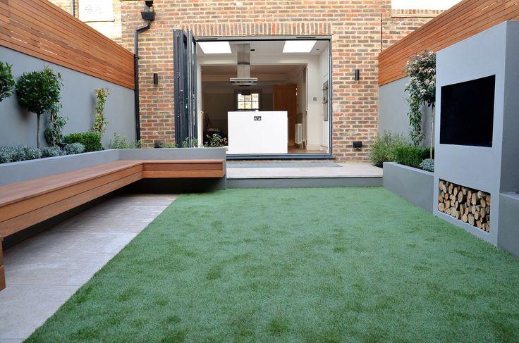 outdoor living modern small garden designer battersea balham clapham dulwich london