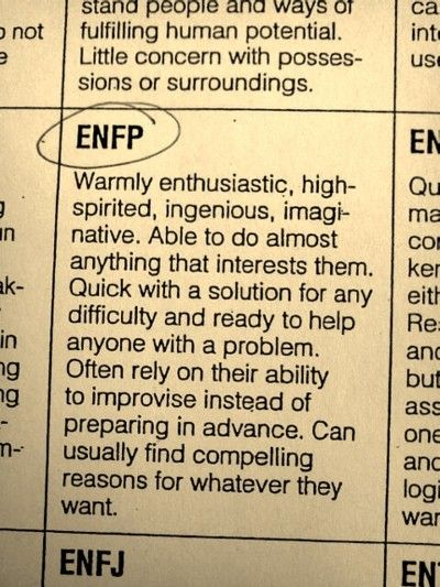 This is confusing. I can't relate to the 'quick with a solution' part, since I'm usually rendered helpless to actually aid anyone with a problem. And I'm not exactly ingenious.
