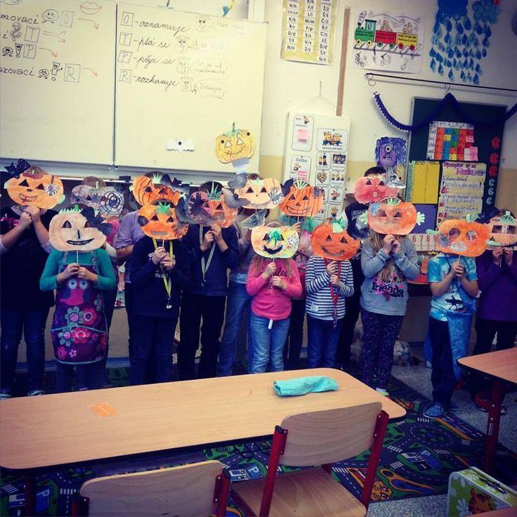My, jako dýně. Halloween  (1. a 2. třída ZŠ)