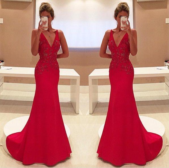 Bolsa Dourada Durante O Dia : Melhores ideias sobre vestido vermelho longo no