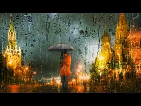 Эффект съемки через стекло в Фотошоп. Создаем дождливые пейзажи в стиле Эдуарда Гордеева - YouTube
