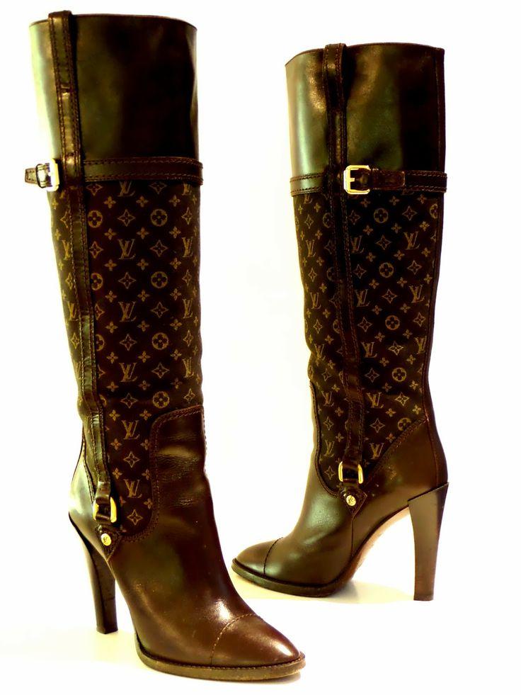 Louis Vuitton Jodie high boots