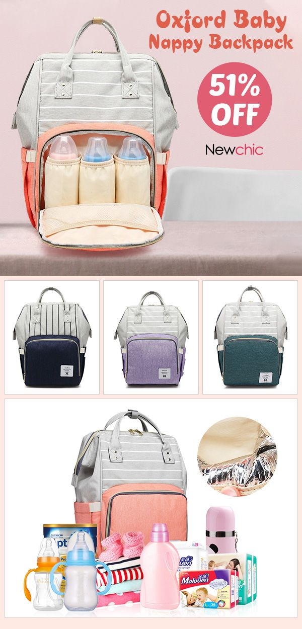 cd76cb8850a 51% off】Mummy Backpacks Oxford Big Backpacks for Mom Maternity ...
