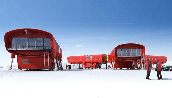 Juan Carlos I Antarctic Station - image: Hugh Broughton Architects