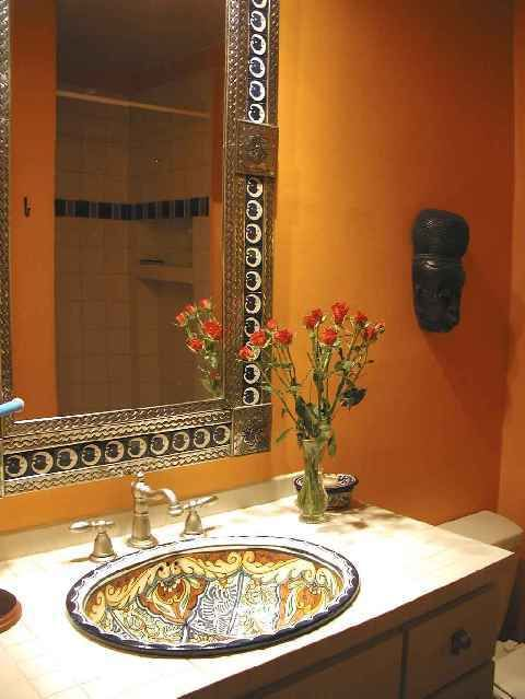 mexican sinks bathroom i adore mexican talavera painted sinks my issue is a 13643
