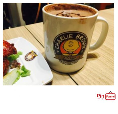 Best coffee promotion visit Charlie Brown Cafe at Cineleisure Orchard Singapore now for promotion and discount, we are halal certified restaurant with over 70 choices of American meals and drinks.