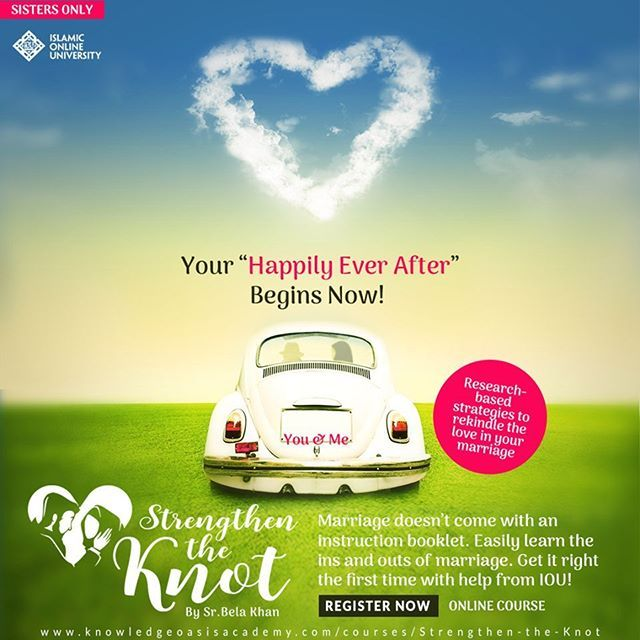 A Happy Marriage: Is it fact or fiction? Is it possible to lead a happily married life? 'Strengthen the Knot' By SR. Bela Khan http://www.knowledgeoasisacademy.com/courses/strengthen-the-knot