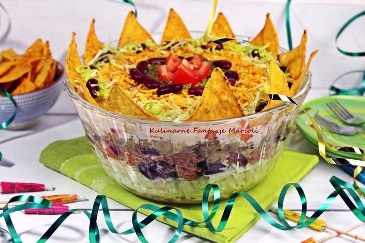 Sałatka meksykańska - królowa imprez