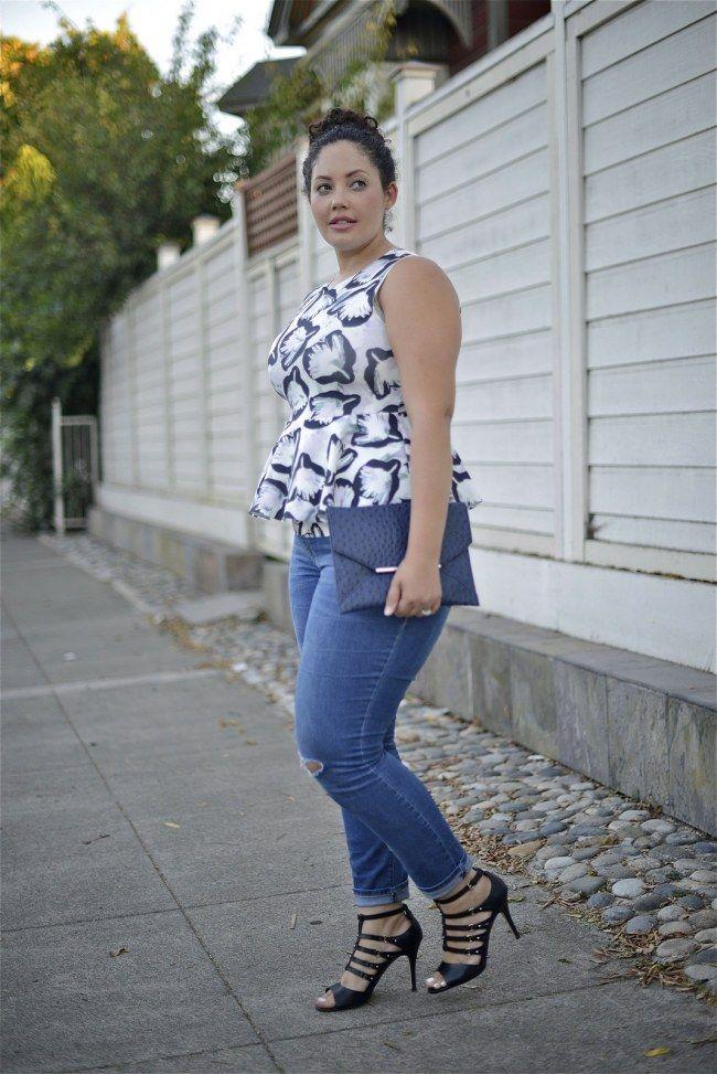 Styling-Tipps für Mollige und Mode, die schlank macht: So ...