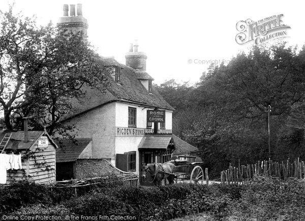 Perry Wood, The Rose And Crown 1903, from Francis Frith