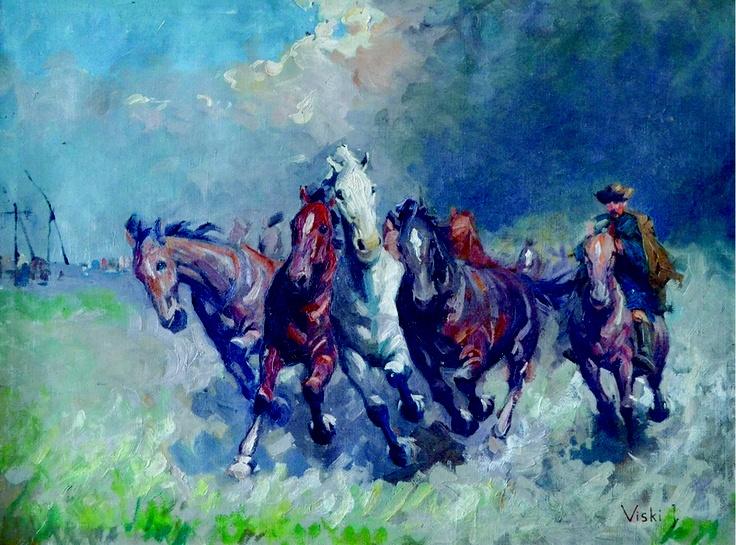 Janos Viski – Cu Caii în Stepă
