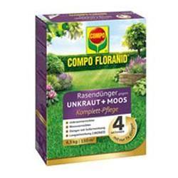 Stunning Komplettpflege f r Ihren Rasen Unkraut und Moos im Rasen sowie Rasd ngung in einem Arbeitsgang Effektive Wirkstoffe bek mpfen Moos und Unkraut gezielt