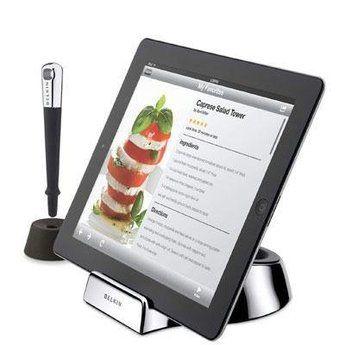 Belkin ipad Chef Stand and Stylus.