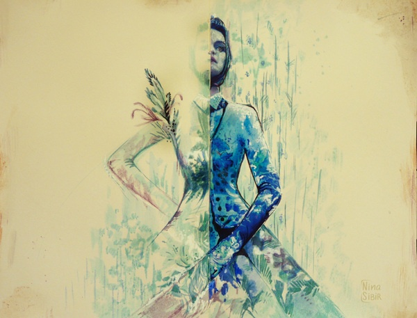 My Moleskine by Nina Sibiratkina, via Behance