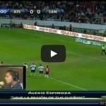 Video del resumen y goles entre Atlas vs Santos partido que corresponde a la Jornada 11 de la Liga MX Clausura 2013. Marcador Final: Atlas 1-2 Santos.
