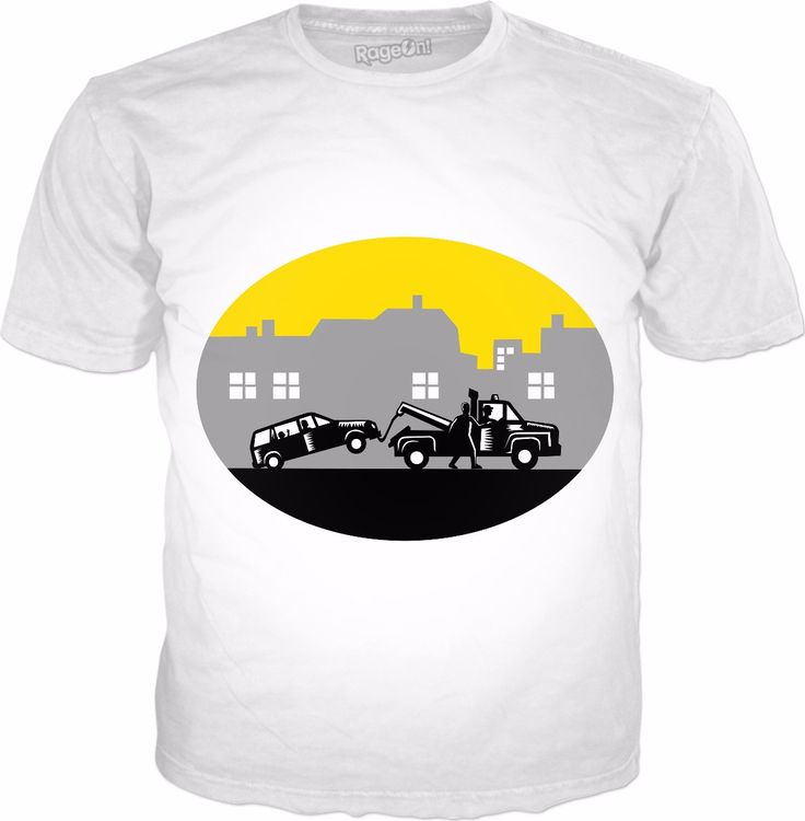 Check out my new product https://www.rageon.com/products/tow-truck-towing-car-buildings-oval-woodcut on RageOn!