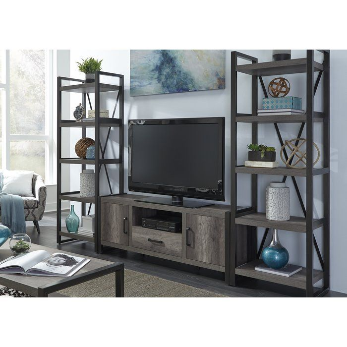 Ladwig Entertainment Center For Tvs Up To70 Wood Entertainment Center Liberty Furniture Contemporary Entertainment Center