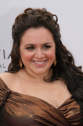 Nikki Blonsky. I think she's absolutely gorgeous.