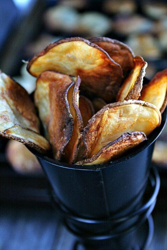 Buffalo Style Baked Potato Chips - Heather's French Press