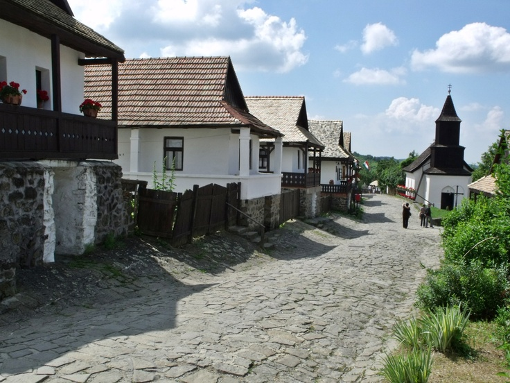 Holloko, Hungary - Ethnographic village in Hungary, part of the World Heritage.  Destination: the World