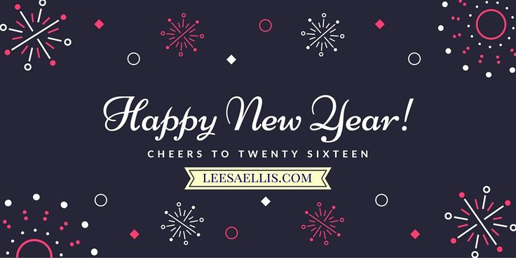 Happy New Year from the heart of the South Island in New Zealand!