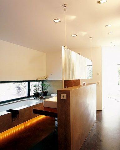 Schlafzimmer : Offene Bäder Schlafzimmer Offene Bäder In Offene ... Offenes Badezimmer Im Dachgeschoss