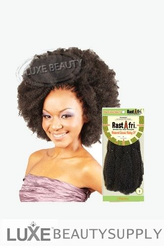 Rastafri Crochet Hair : Luxe Beauty Supply - Rastafri Braiding Hair - AFB Natural Classic ...