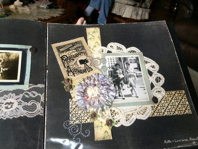 Layout: Vintage picture