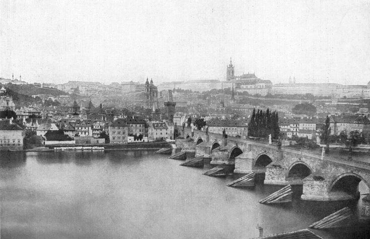 Karlsbrücke um 1855 (Andreas Groll)