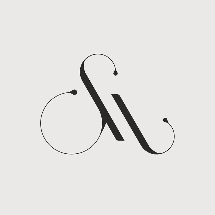 SM monogram for Studio Muir identity by Hope Meng Design // #logo #type #typography #lettering #ligature