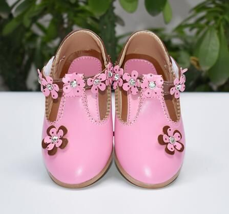 Kid Casual Shoes Children Kids Infant Girls Flower Ball Single Solid Princess Casual Shoes