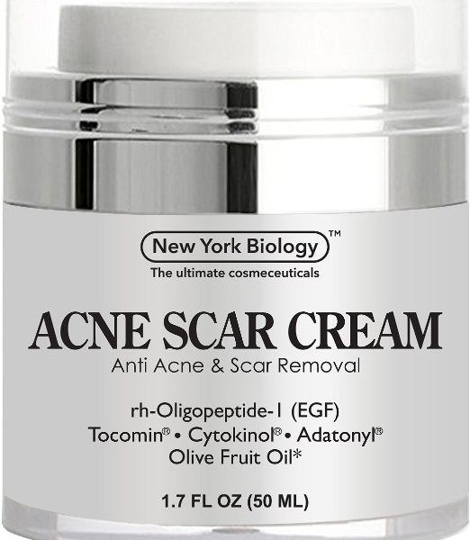 ACNE SCAR REMOVAL CREAM with ingredients such as CYTOKINOL® Growth Factor Complex that actively promotes epidermal repair by encouraging intercellular communication. This acne treatment also deeply penetrates the skin, fighting active breakouts and healing old acne scars.,