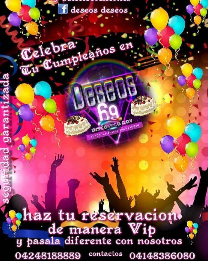 Sin duda alguna somos la alternativa VIP Gay en Cumaná.. . . . No dudes en contactarnos y colocate en manos de verdaderos expertos #deseos69discoteca . . . . . . . . . . . . #discotecas #gay #lesbiana #Men #trans #Djs #Sex #música #boys #halloween #cumpleaños #música #animación #celebración #tortas #años #cumana #Sucre #Oriente #caracas #Venezuela