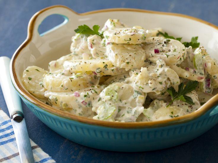 Cold-Fashioned Potato Salad recipe from Alton Brown via Food Network