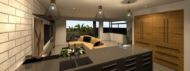 We just love the interior design for a new townhouse development in Hamilton.