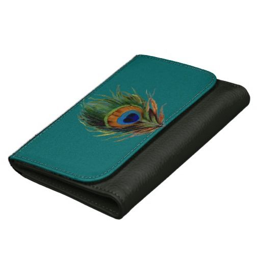 Peacock Feather wallet