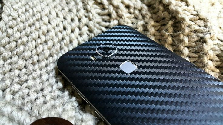 Folii Carbon 3M Black Huawei G8 /GX8