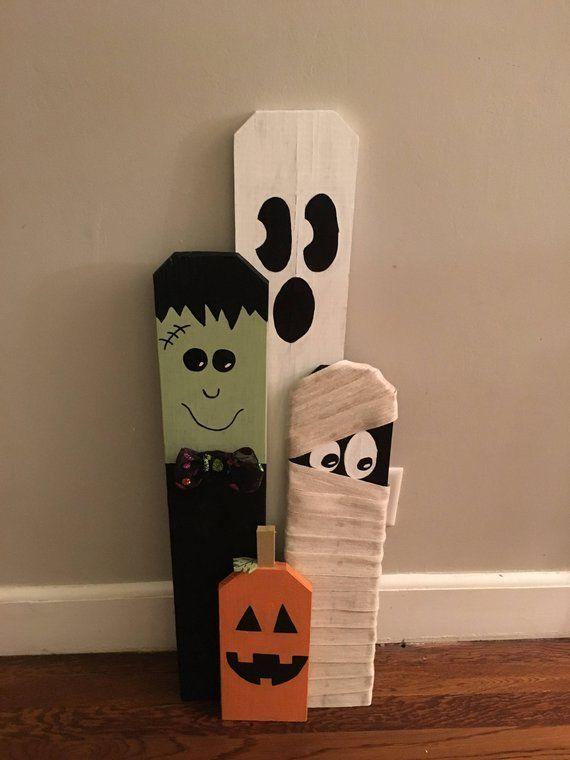 Altholz Halloween Greeter Set