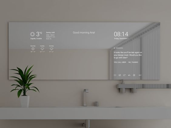 Smart mirror by ana sakac