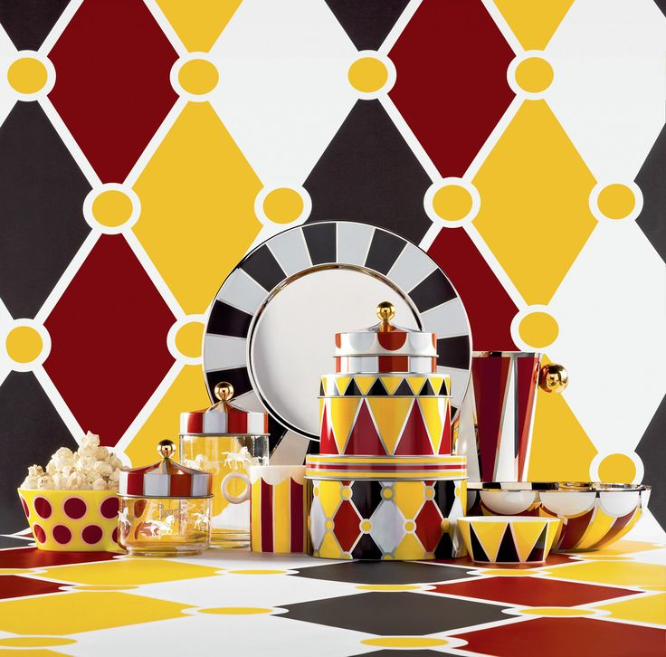 Alessi Launches Circus-Themed Collection by Marcel Wanders