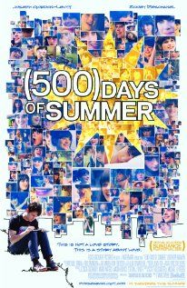 500 Days of Summer: Movie Posters, Great Movie, Boys Meeting Girls, Joseph Gordon Levitt, Summer Movie, Zooeydeschanel, Zooey Deschanel, Summer 2009, Favorite Movie