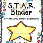 A great cover for your students' STAR Binder....