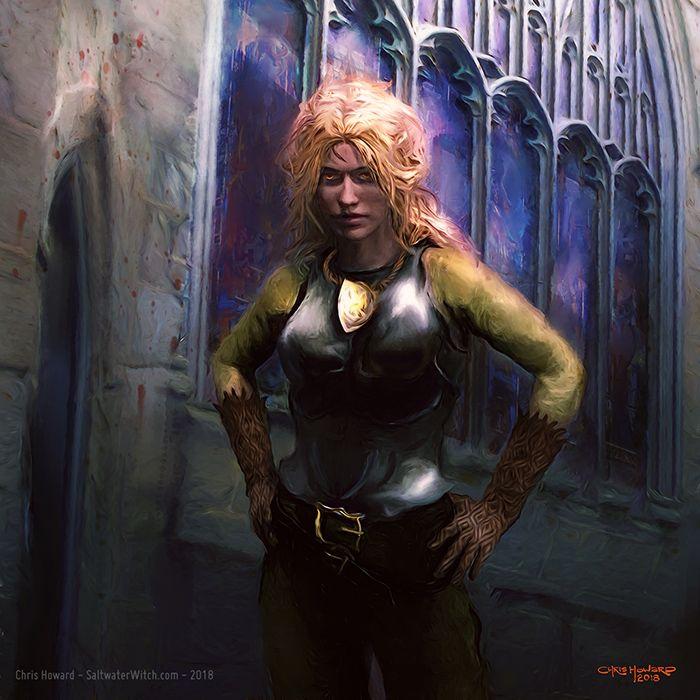 Angua Discworld