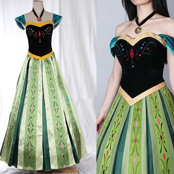Frozen Princess Anna Adult Coronation Dress #2168051 - Weddbook