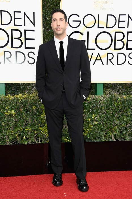 David Schwimmer at the 2017 Golden Globe Awards...