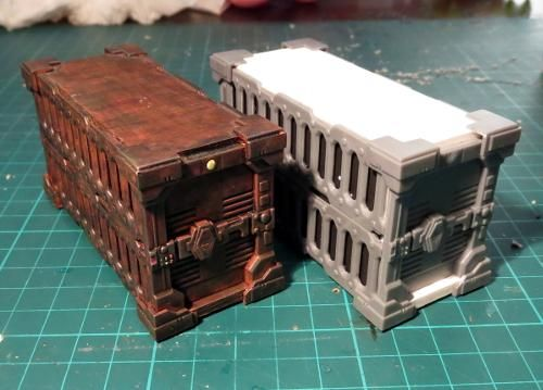 Terrain Tutorial: Shipping Container using components from