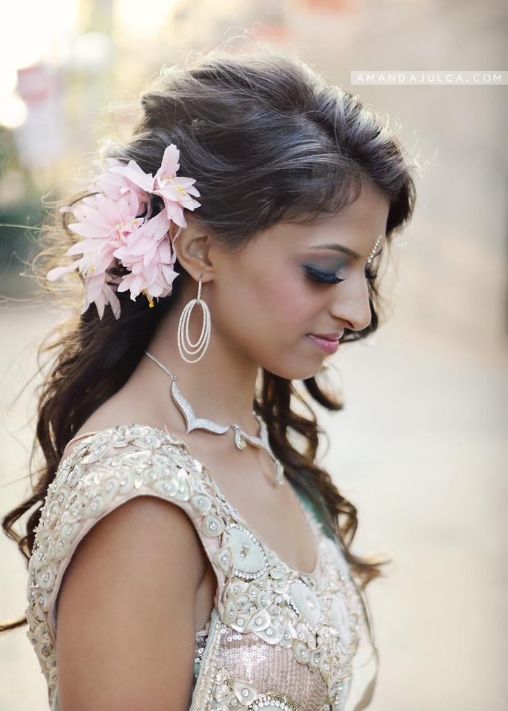 #Hair #Makeup | Beautiful Indian Brides